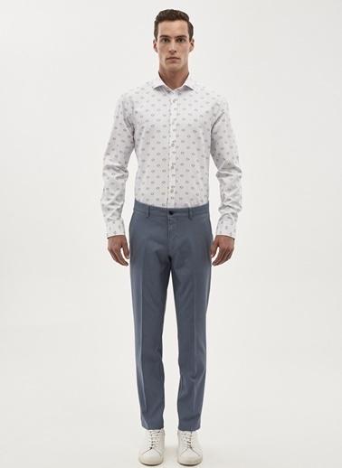 Altınyıldız Classics Slim Fit Uzun Kollu Gömlek Beyaz